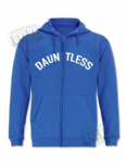 Single colour hoody - zippered DAUNTLESS